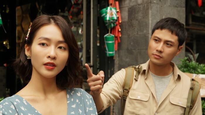 Trailer '11 tháng 5 ngày': Thanh Sơn 'cà khịa' Khả Ngân quảng cáo và đời thật khác xa nhau Ảnh 4