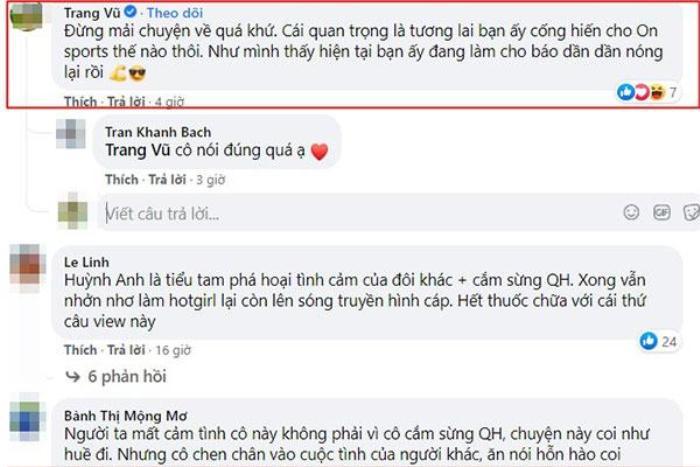 Huỳnh Anh làm MC thể thao, gia đình Quang Hải liền có phản ứng bất ngờ Ảnh 2