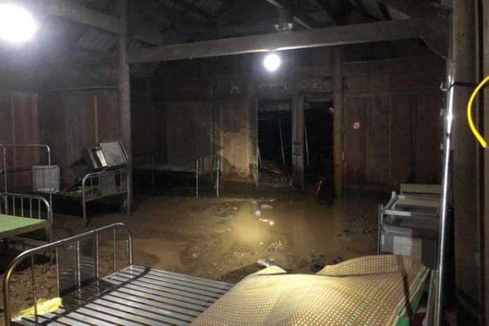 Mưa lớn kéo dài gây ngập lụt ở huyện vùng cao Nghệ An Ảnh 3