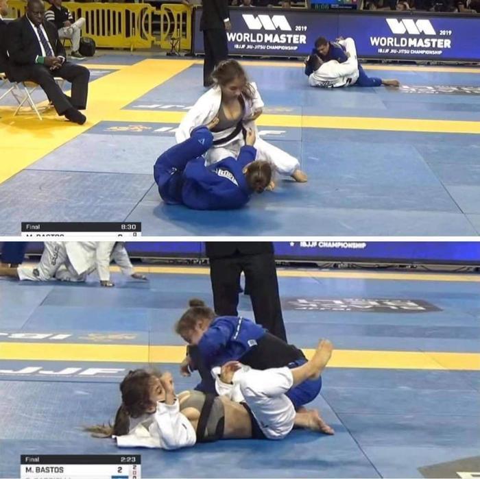 Sự thật hình ảnh nữ võ sĩ bị lột đồ lộ vòng một khủng được cho ở Olympic Tokyo 2020 Ảnh 1