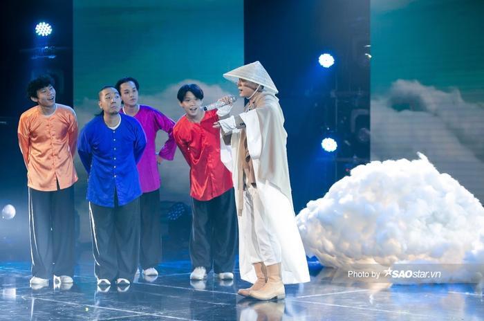 Quân AP hóa 'ông bụt', Thanh Duy đem con rối lên sân khấu 'càn quét' The Heroes Ảnh 7