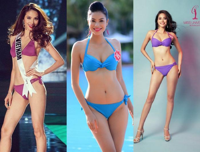 4 Hoa hậu Hoàn vũ Việt Nam thời còn thi thố, diện bikini body ai 'đỉnh' nhất? Ảnh 6