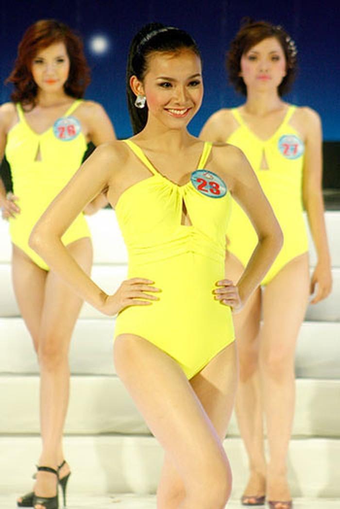 4 Hoa hậu Hoàn vũ Việt Nam thời còn thi thố, diện bikini body ai 'đỉnh' nhất? Ảnh 3