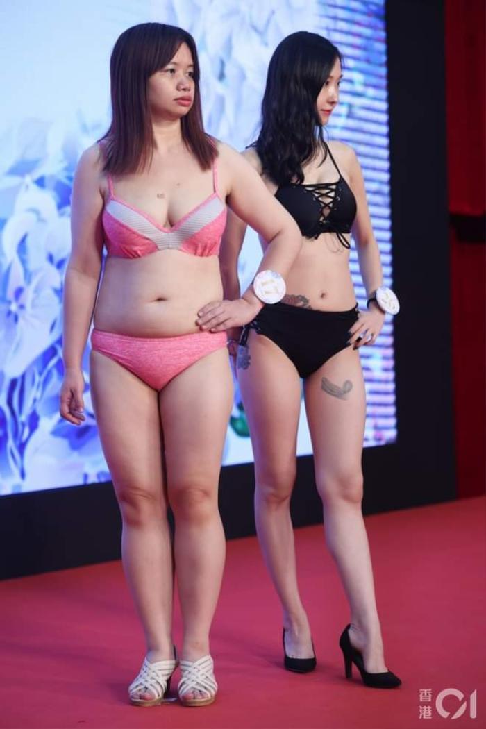 Dàn thí sinh Hoa hậu eo ngấn mỡ, chân cột đình gây, phát sóng thi trực tiếp được 53 người xem Ảnh 7