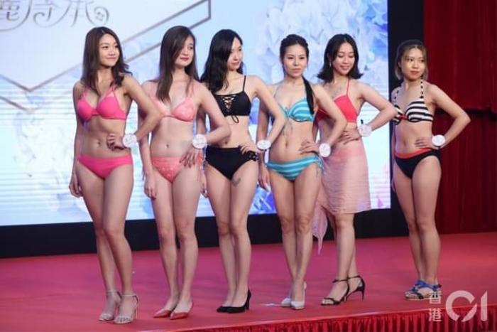 Dàn thí sinh Hoa hậu eo ngấn mỡ, chân cột đình gây, phát sóng thi trực tiếp được 53 người xem Ảnh 8