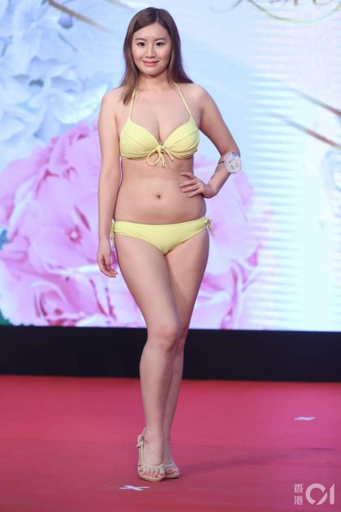 Dàn thí sinh Hoa hậu eo ngấn mỡ, chân cột đình gây, phát sóng thi trực tiếp được 53 người xem Ảnh 4
