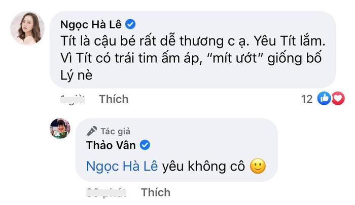 Con trai MC Thảo Vân ủng hộ mẹ đi bước nữa, vợ mới Công Lý bình luận điểm giống nhau của 2 bố con Ảnh 3