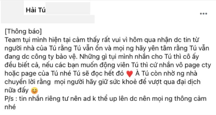 Bị chỉ trích vì đăng ảnh Hải Tú, admin một trang support Sơn Tùng lên tiếng đáp trả Ảnh 4