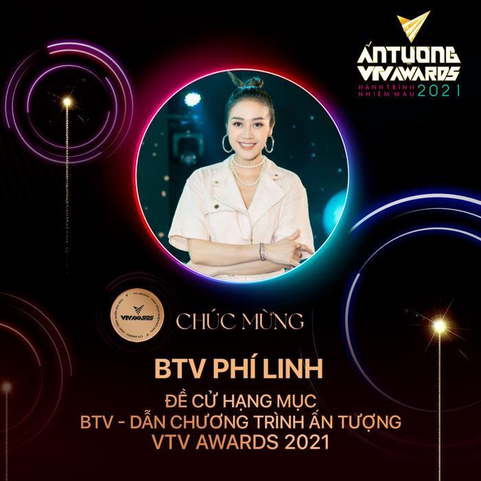 MC Phí Linh và Master Hà Lê 'lọt' top đề cử tại VTV Awards 2021 Ảnh 2