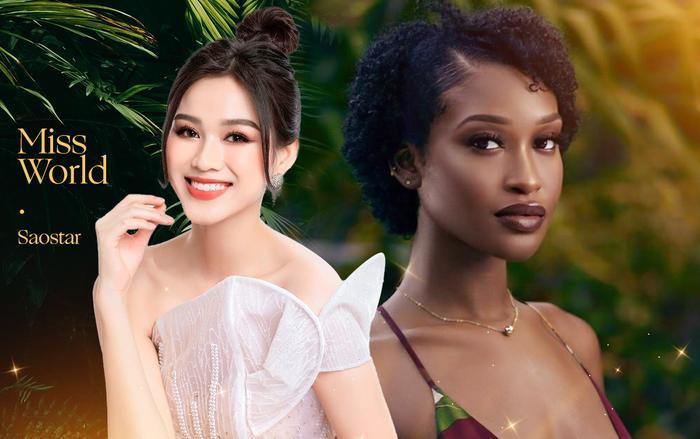Mỹ nhân tóc xù đại diện Belize tại Miss World: Vẻ đẹp 'lạ' đối lập với sắc vóc tươi trẻ của Đỗ Hà Ảnh 1