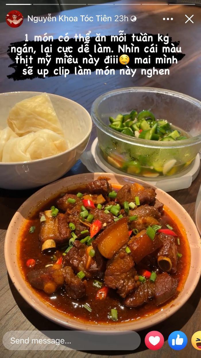 Tóc Tiên, Hà Tăng, Lan Khuê style thời trang đẹp nhưng tài nấu ăn mới đáng nể Ảnh 15