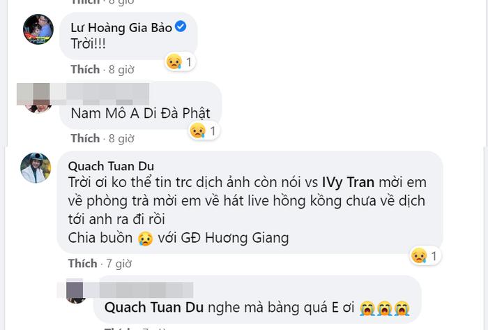 Một nam ca sĩ đột ngột qua đời, Ốc Thanh Vân cùng nhiều sao Việt bàng hoàng Ảnh 2