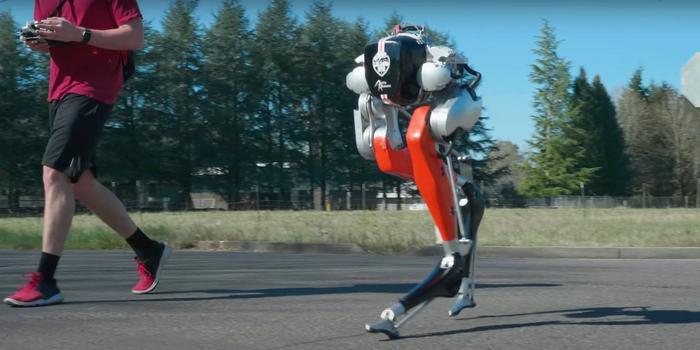 Robot chạy bộ 5km ngoài trời chẳng thua kém gì người thật chỉ với một lần sạc Ảnh 1