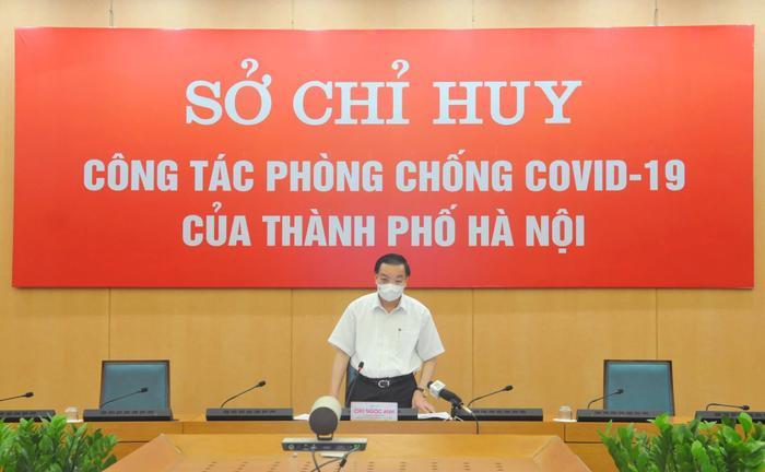 Chủ tịch Hà Nội: 'Đơn vị, cơ quan nào vi phạm về giãn cách xã hội đều phải xử lý nghiêm'