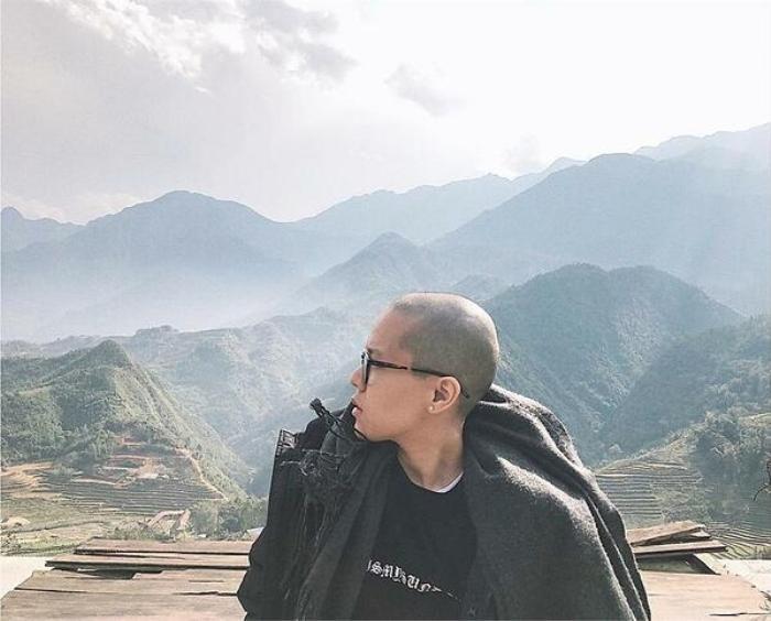 Dàn sao Việt cạo đầu trọc gây bất ngờ: Người bị phụ tình, kẻ do cắt tóc 'lỡ tay' Ảnh 2