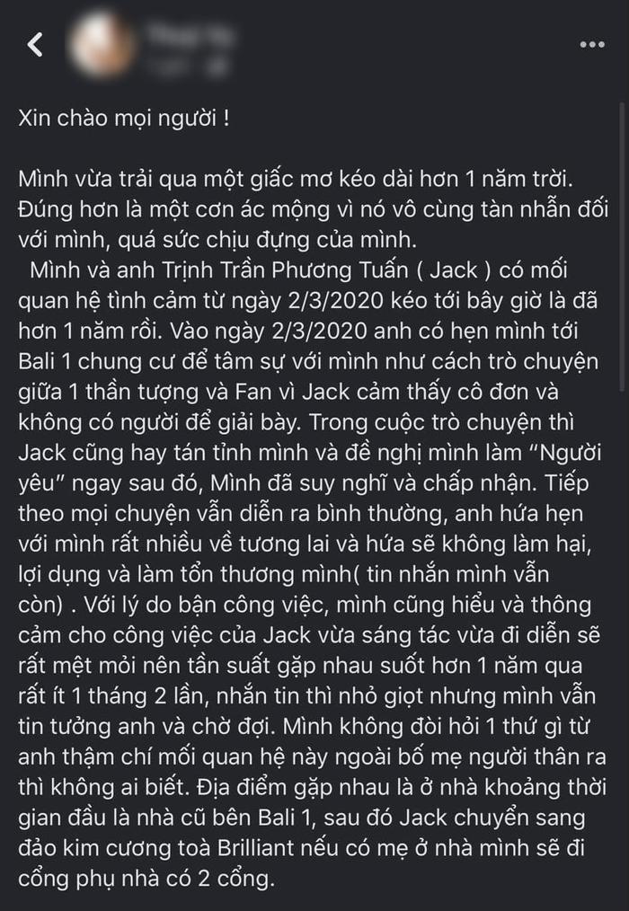 Jack bị tố 'bắt cá nhiều tay', đã có con với nữ chính MV Sóng gió? Ảnh 2