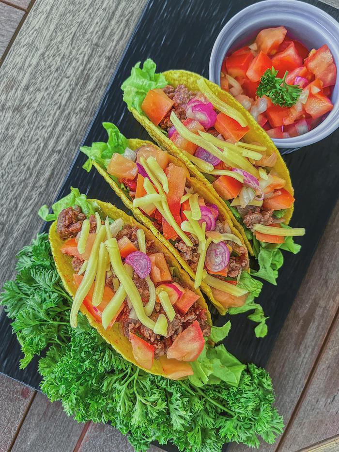 Mùa dịch: Lan Khuê đãi chồng món Mexico trứ danh, món ăn mà đẹp như bức tranh vậy trời! Ảnh 4