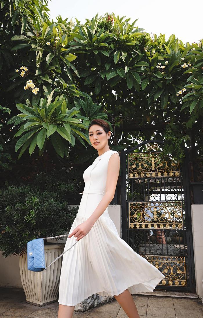 Hoa hậu Khánh Vân thương nhớ Sài Gòn giữa ngày dịch: Thành phố sẽ sớm khỏe lại thôi! Ảnh 3