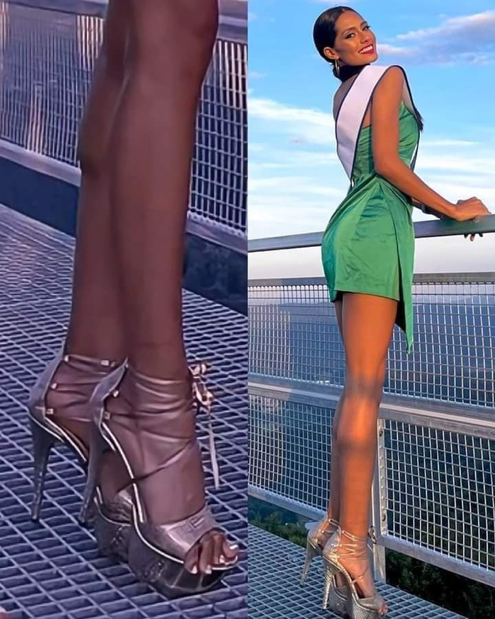 Miss Supranational 2021 toàn hổ chiến, đi gót nhọn, pose dáng trên sàn lưới vẫn đỉnh Ảnh 1