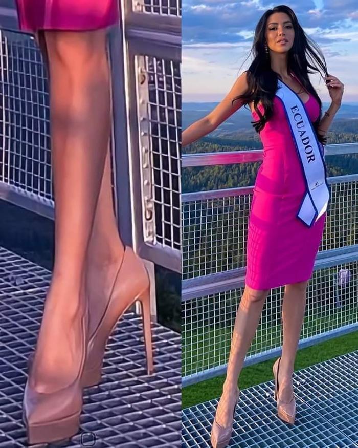 Miss Supranational 2021 toàn hổ chiến, đi gót nhọn, pose dáng trên sàn lưới vẫn đỉnh Ảnh 2