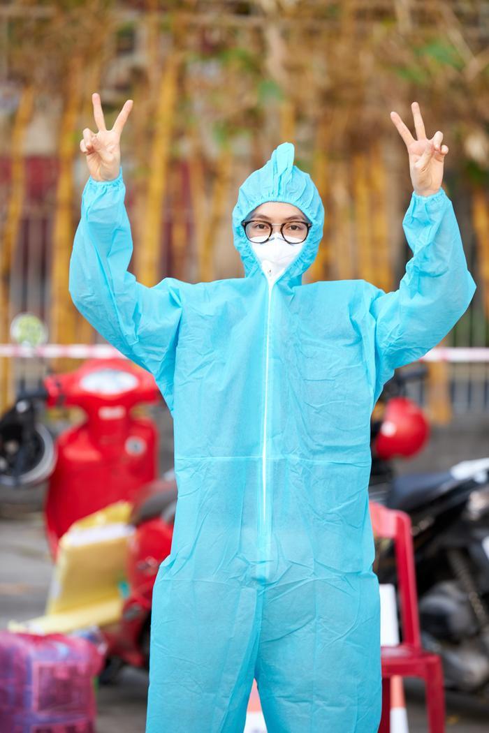 Khánh Vân, Kim Duyên, Lệ Hằng lan tỏa yêu thương với dự án 'Chuyến xe thực phẩm 0 đồng' lần 7 Ảnh 8