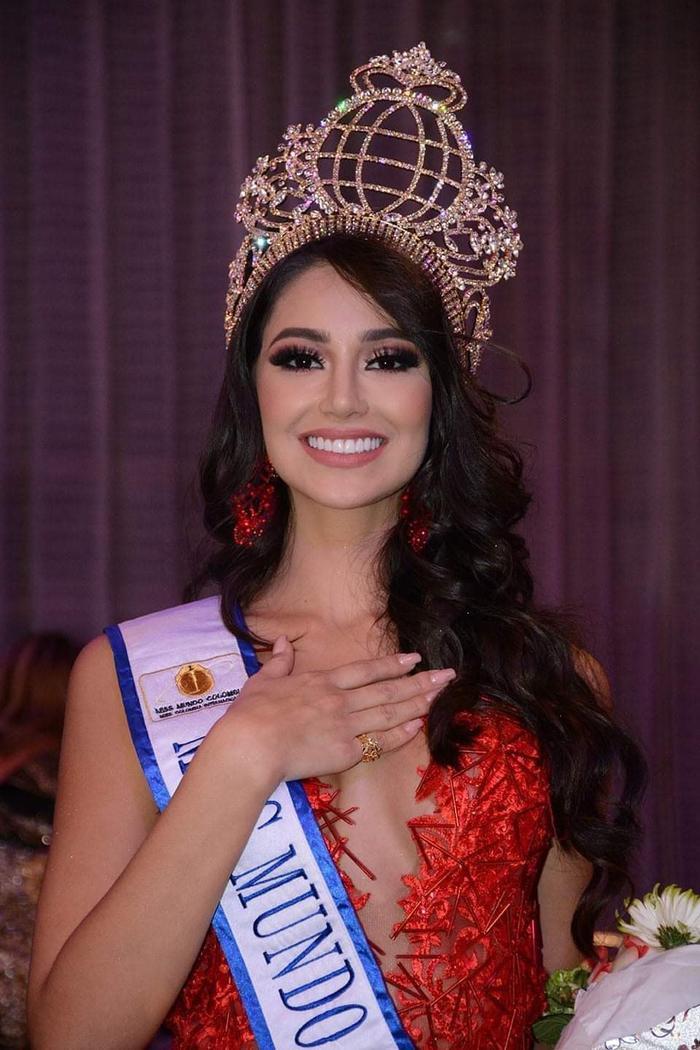Nhan sắc diễm lệ của hoa hậu Colombia tại Miss World 2021: Đối thủ số 1 của Đỗ Thị Hà đây ư? Ảnh 3