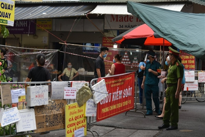 Hà Nội: Tạm dừng kinh doanh tại chợ Hàng Bè từ 0h ngày 19/8 siết chặt kiểm soát dịch bệnh Ảnh 1