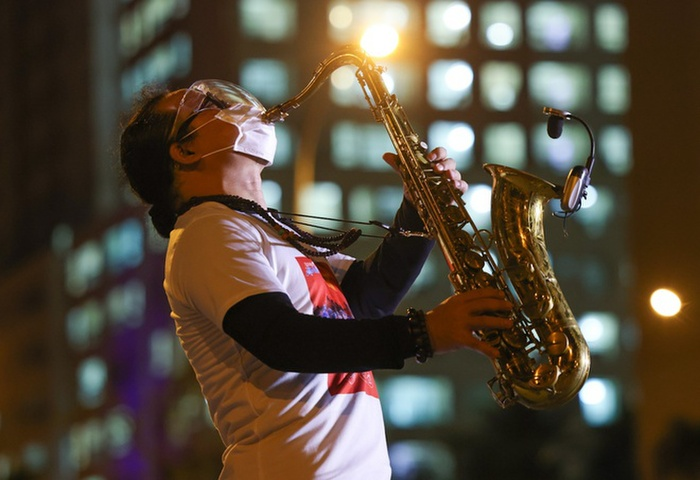 Nghệ sĩ saxophone Trần Mạnh Tuấn bị đột quỵ Ảnh 2