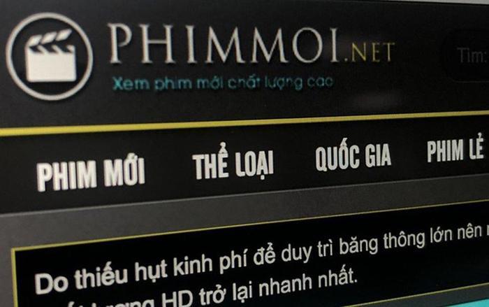 Điều tra vụ chiếu 'lậu' phim trên website phimmoi.net