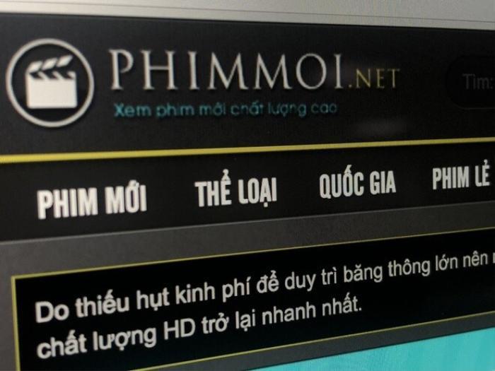 Công an TP HCM khởi tố vụ án hình sự liên quan website phimmoi.net Ảnh 1
