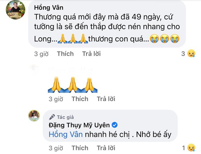 NSƯT Mỹ Uyên, Cao Thái Hà kể chuyện cố diễn viên Phạm Đức Long về báo mộng, NSND Hồng Vân xúc động Ảnh 3