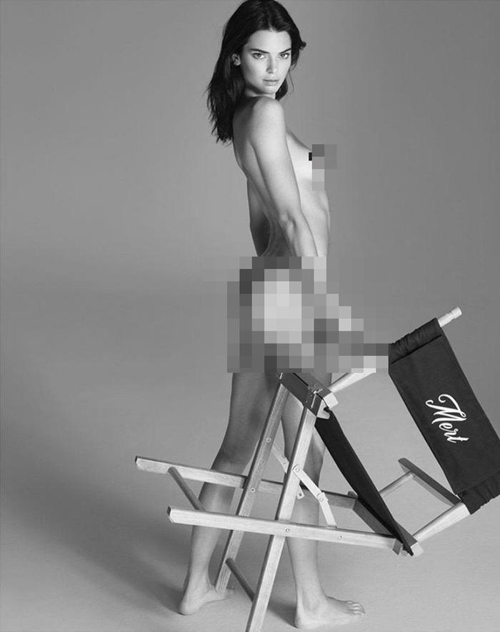 Chân dài triệu đô Kendall Jenner đu dây như khỉ khoe quả đào săn chắc trong bộ ảnh thời trang Ảnh 5