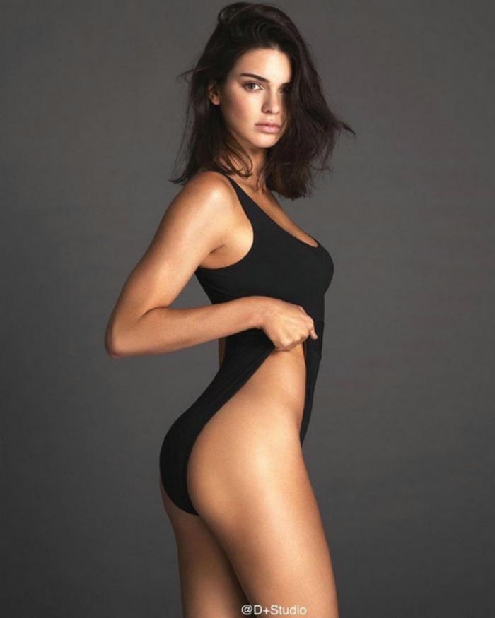 Chân dài triệu đô Kendall Jenner đu dây như khỉ khoe quả đào săn chắc trong bộ ảnh thời trang Ảnh 7