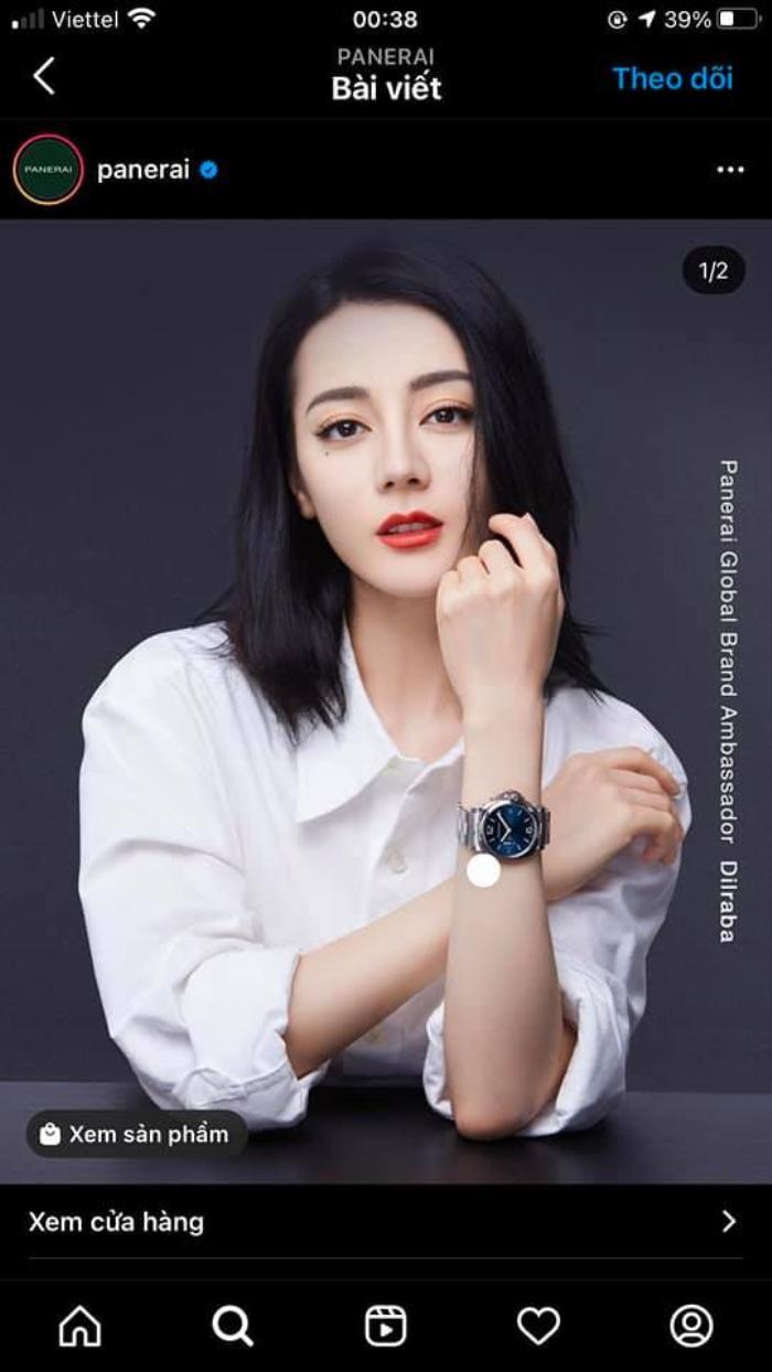 Địch Lệ Nhiệt Ba là nữ đại diện phát ngôn toàn cầu đầu tiên của thương hiệu xa xỉ Ảnh 3