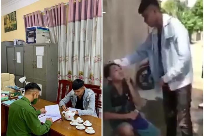 Triệu tập nam thanh niên bắt bạn quỳ gối đánh đập rồi quay clip: 'Tao Trọng Tống, muốn gì thì tìm tao' Ảnh 1