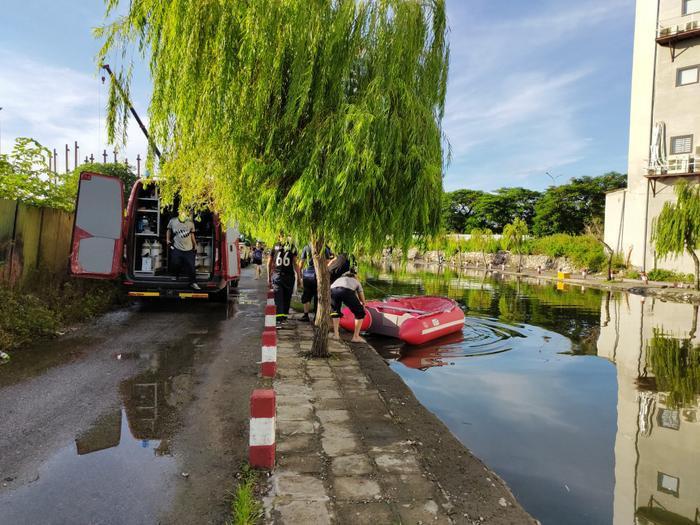 2 chị em ruột đuối nước tử vong sau trận mưa lớn ở Hải Phòng Ảnh 1
