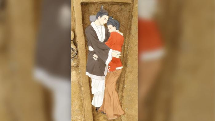 Chuyện xúc động sau hai bộ hài cốt có tư thế lạ trong ngôi mộ cổ