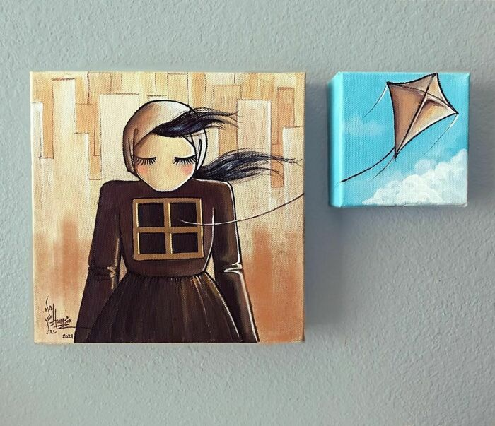 Trái tim rỉ máu qua loạt tác phẩm đường phố đầy ám ảnh về thân phận người phụ nữ Afghanistan