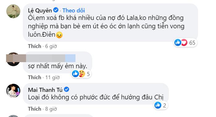 Xuân Lan, Lệ Quyên mỉa mai 'ai đó' giữa 'bão drama' ngập tràn Vbiz Ảnh 3