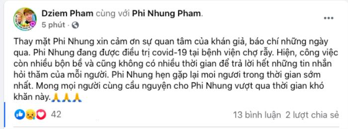Ca sĩ Phi Nhung bị nhiễm Covid-19 từ khi nào và nguồn lây ở đâu? Ảnh 1