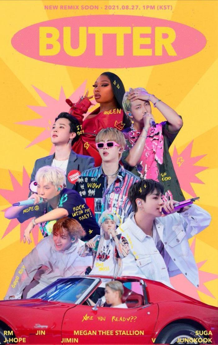 Sau khởi kiện, BTS và Megan Thee Stallion ra mắt Butter remix