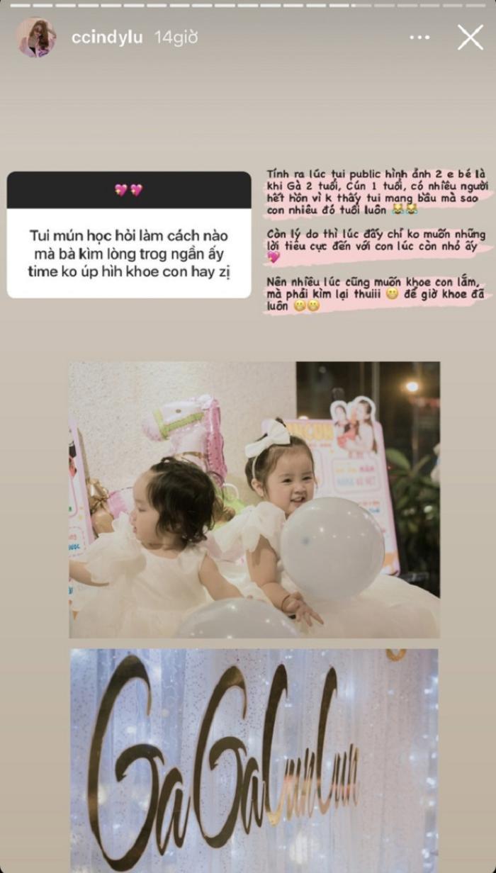 Cindy Lư lần đầu công khai lý do giấu kín chuyện có con với Hoài Lâm Ảnh 2