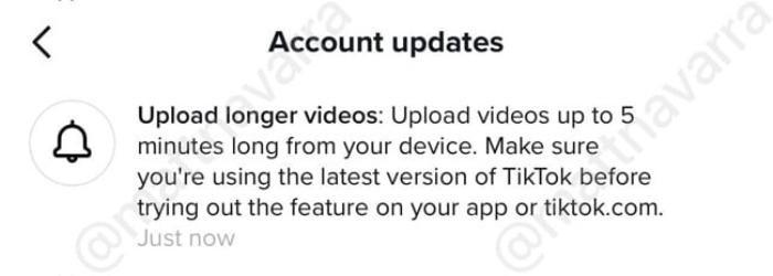 TikTok thử nghiệm nâng thời lượng video lên 5 phút Ảnh 1