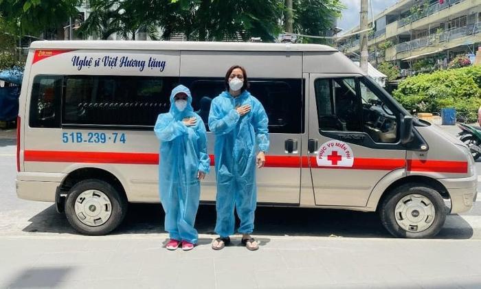Xúc động câu chuyện vợ chồng Việt Hương giúp Phi Nhung chuyển viện giữa đêm Ảnh 3