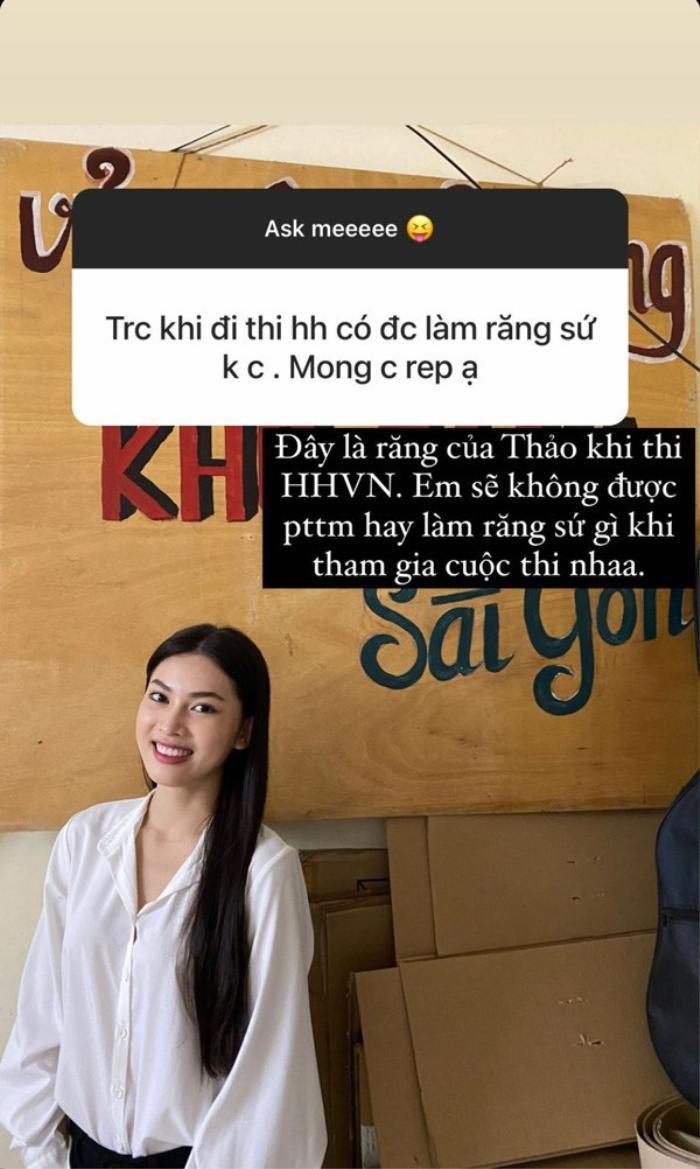 Á hậu Việt trả lời khôn khéo khi bị hỏi chỉnh sửa nhan sắc trước khi thi Hoa hậu Ảnh 1