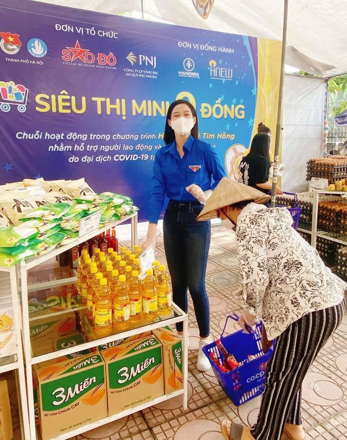 Hoa hậu Tiểu Vy, Mỹ Linh, Lương Thùy Linh, Đỗ Hà hỗ trợ việc làm cho F0 khỏi bệnh Ảnh 2