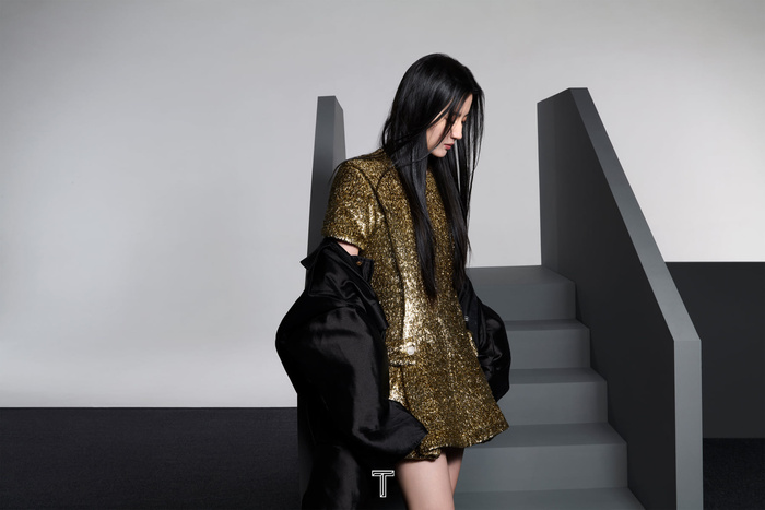 Lưu Diệc Phi mang high fashion xuất hiện trên tạp chí T số Kim Cửu Ảnh 7