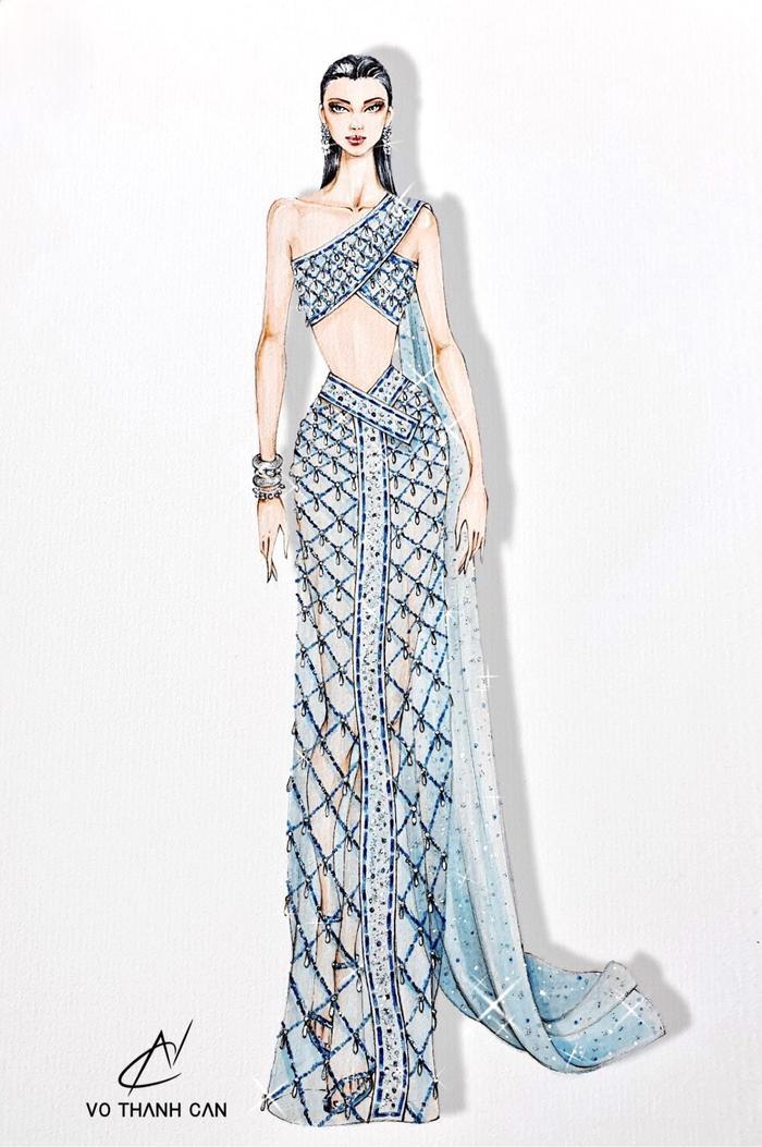 Hé lộ bộ váy cực đẹp được đồn đoán dành cho Thùy Tiên tại Miss Grand International 2021