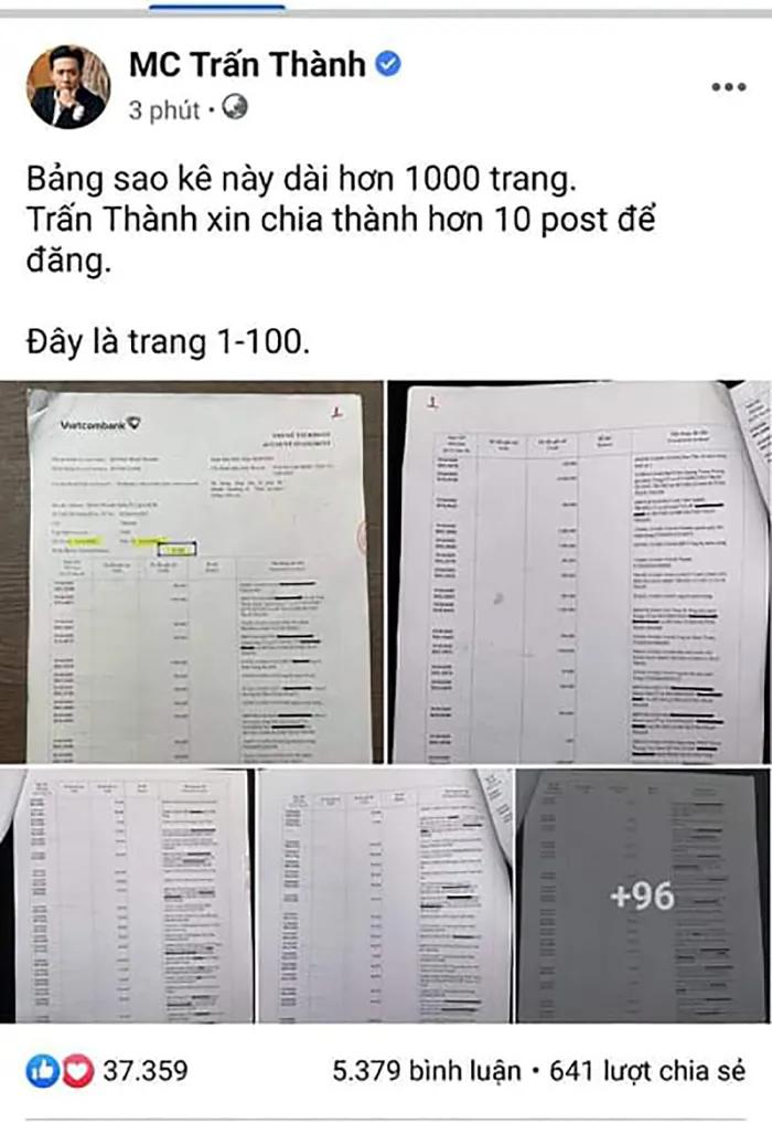 Netizen 'réo gọi' nữ CEO Đại Nam sau khi Trấn Thành tung sao kê, yêu cầu đòi 50 tỷ ngay và luôn! Ảnh 2