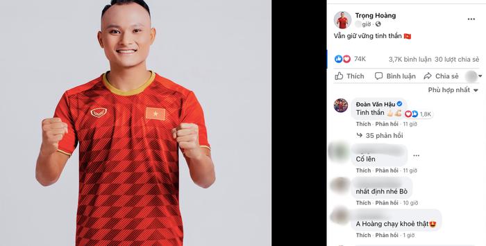 Thất bại trước Australia, dàn tuyển thủ đồng loạt đăng status, Văn Toàn nói 4 từ khiến dân mạng chao đảo Ảnh 2